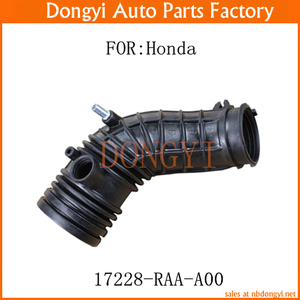 Rubber Air Flow Tube Intake Throttle Body Hose Assembly 17228-RAA-A00  17228RAAA00
