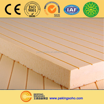 High Density Insulation Or Xps Extruded Polystyrene Foam