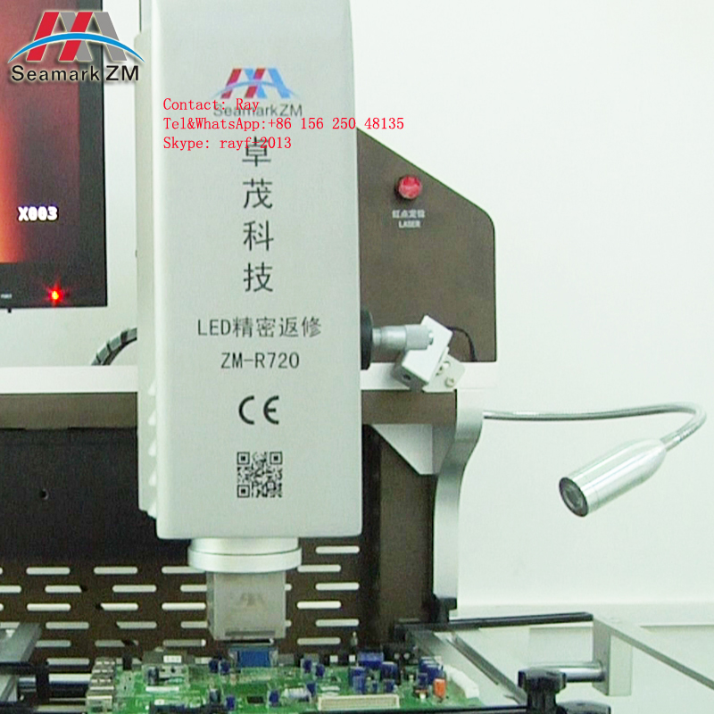 Zhuomao ZM-R720 laptop/mobile phone/computer motherboard vga chip repair/desolder machine from china supplier only factory price