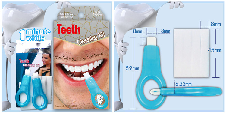 Cepat Produk Pemutih Gigi Putih Gigi Whitening Bahan Kimia Gratis