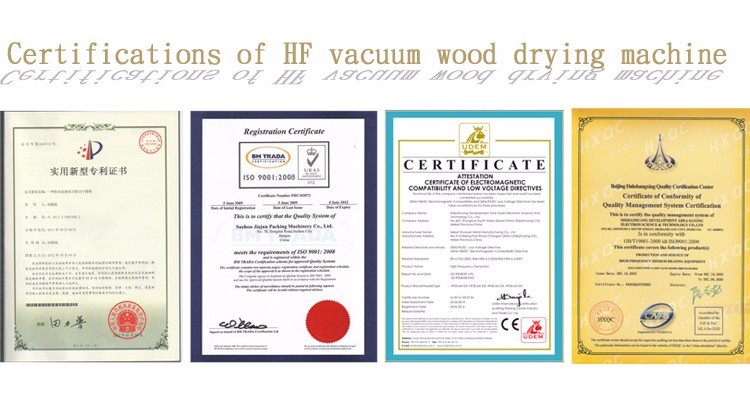 RF vacuum wood drying machine/timber drying kiln