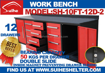 Best Selling Suihe Tool Cabinet Tool Box Work Bench Buy