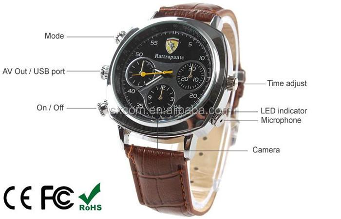 Cmos High Tech 720p Hd Spy Watch Camera