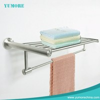 Yumore wall mounted new style heated hotel towel rack