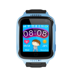 Russian English Q529 Children SOS Smart Watch GPS Positioning Multi Languages Smart Watch Phone Factory Directly Sell