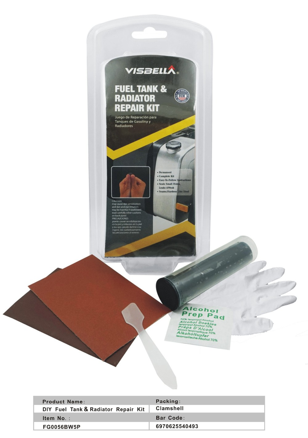 Auto Repair Fuel Pump Repair Kit Fuel Tank Repair