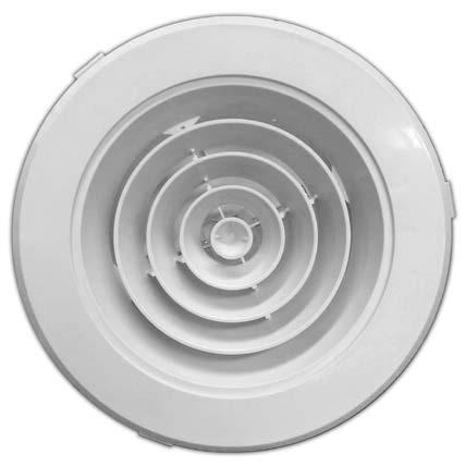 Round Ceiling Diffuser Cd Rh Available In 4 Different Sizes 150mm 6 200mm 8 250mm 10 300mm 12 Buy Ceiling Diffuser Plastic Diffuser