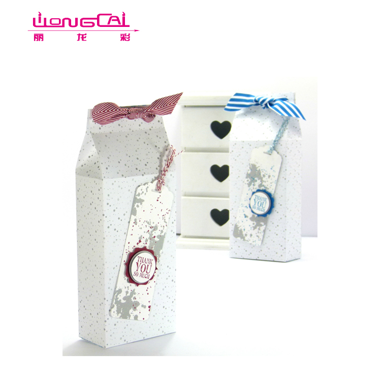 Wholesale White Colorful Candy Gift Box For Valentine Day Gift Packing