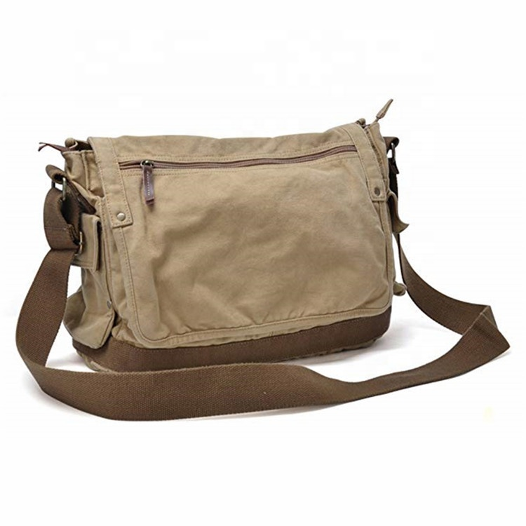 야외 빈 키 빈 Cross 몸 Shoulder Satchel 잡낭 빈티지 Canvas Messenger Bag