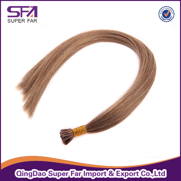 Top Favored European Remy I Tip Human Hair Extensions