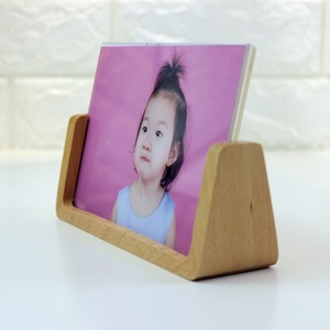 4*6 Inches Simple Design Frame Home Use Wedding Photo Baby Photo Display Handmade Wooden U Shape Photo Frame