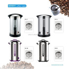 10L Hot Stainless Steel commercial Water boiler Coffee Maker with Fliter