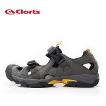 Clorts 2015 New PU Men Sandals Outdoor Platform Shoes Summer Male Beach Shoes SD-29A/B