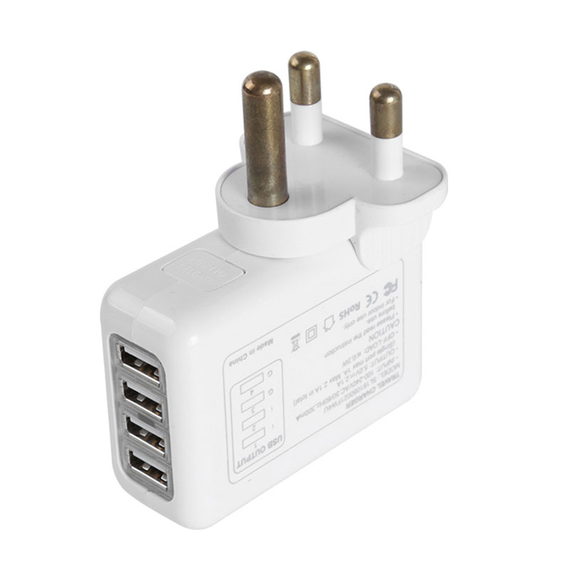 Smart 4 Usb Charger Return Gifts Wholesale Gift Items a07558a867749