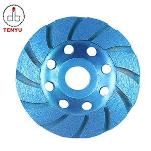"4 inch 4"" Diamond segment grinding CUP wheel disc grinder concrete Granite Stone saw blade"