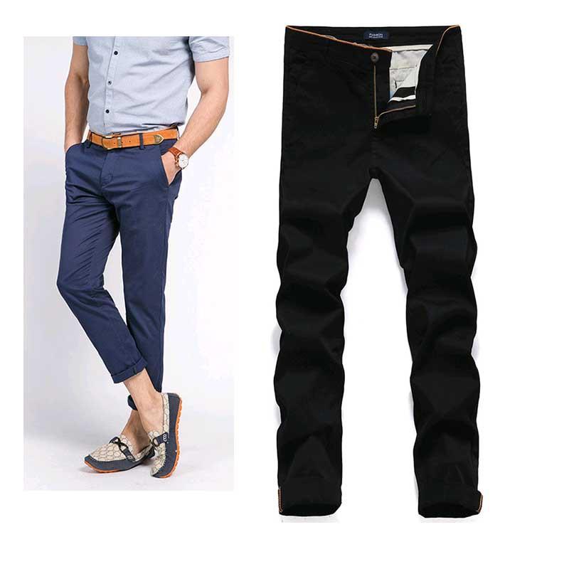 Macondoo Mens Slim Fit Straight Washed Stylish Jeans Faded Denim Pants
