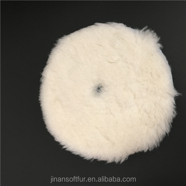 "Wool diamond sponge polishing 7"" polishing pad"