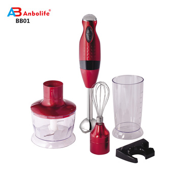 Anbolife excellent quality home use best selling electric small kitchen appliances electric stick blender for home