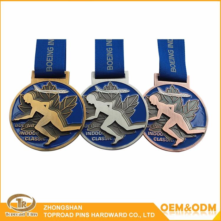 Make Metal Custom Medal Souvenir 3d Sport Medal Zinc Alloy Blank ...