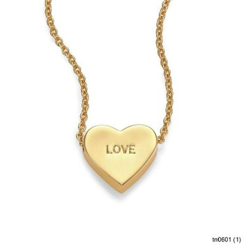Latest design fashion jewelry plated gold dear valentine love latest design fashion jewelry plated gold dear valentine love heart pendant necklace mozeypictures Images