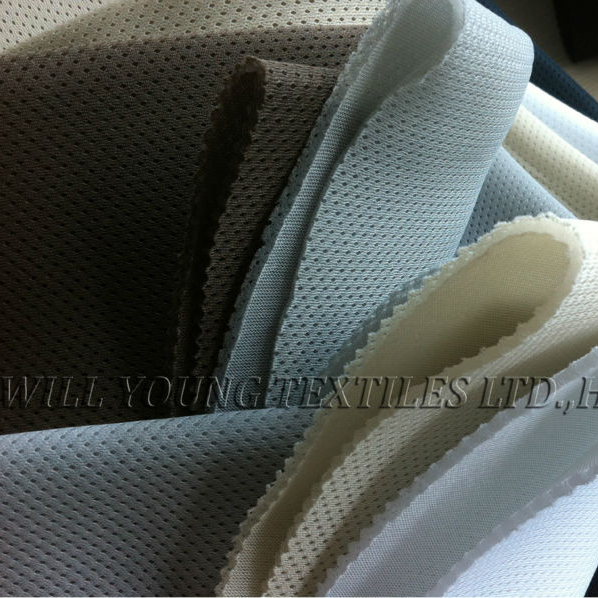 China origin <strong>polyester</strong> 3D airmesh fabric