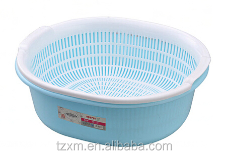 plastic fruit and vegetable dural colander