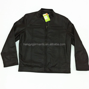 2014 Top Quality Mans Leather Motorbike Jacket