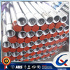 Hot dip galvanized section Q195-Q235 mixed grade length 6 meter