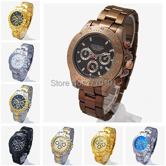 Мужские часы лучший бренд класса люкс Daytona часы авто встречи стальной браслет мужской кварцевые часы Man наручные часы Relogio Masculino