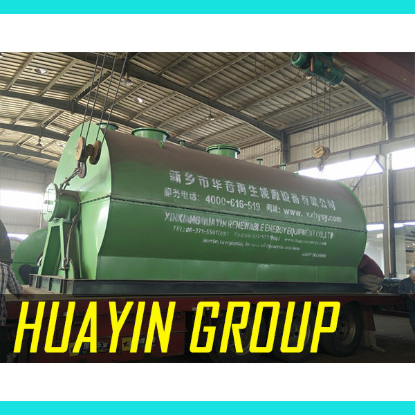 energy-saving waste tyre recyling and pyrolysis plant