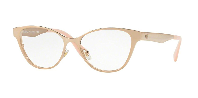 ef3a797b5e Get Quotations · Eyeglasses Versace VE 1245 1052 COPPER PINK