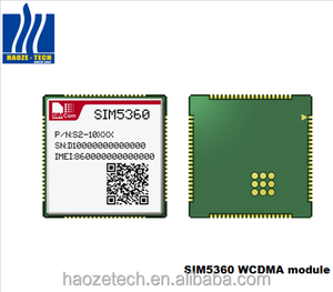 SIMCOM SIM5360A Low cost SMT and mini PCIE multi-band GSM GPRS GPS EDGE WCDMA HSDPA 3G module