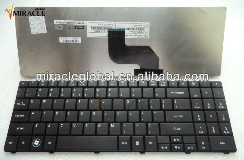 Keyboard for eMachines E525 E725 E625 E627 E628 E630 E637 G525 G625 G627 G725 AR