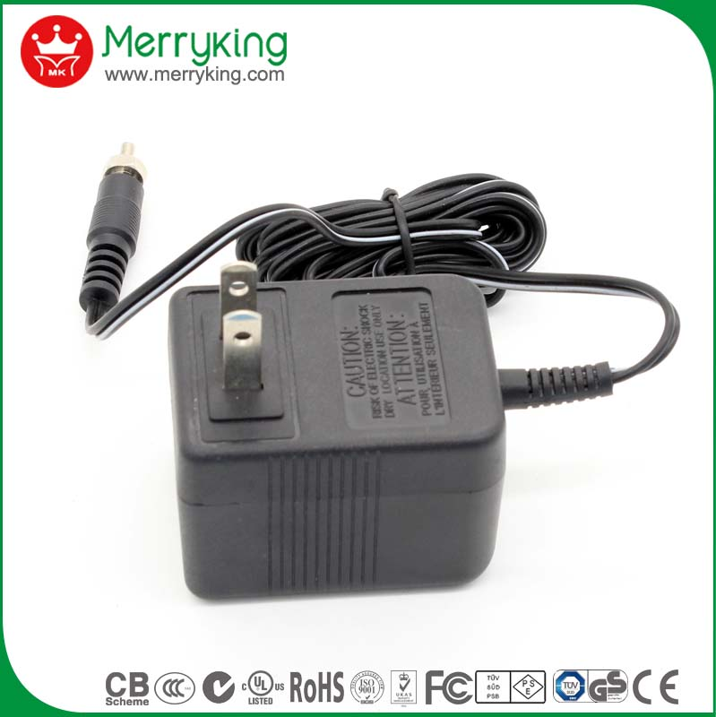 120V 60hz input 3V AC DC Linear Transformer Power Supply Adapter