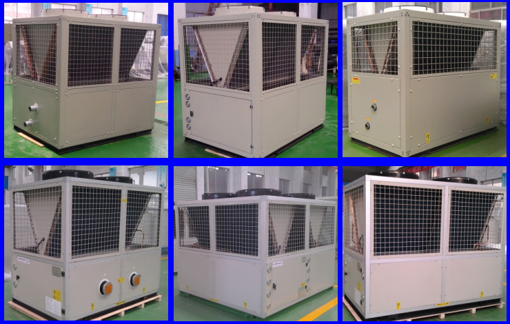 Scroll Compressor Aquarium Air Cooled Water Cooled Chiller For Ice ...