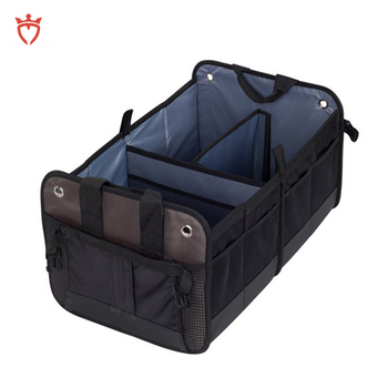 Foldable Premium quilted car organizer