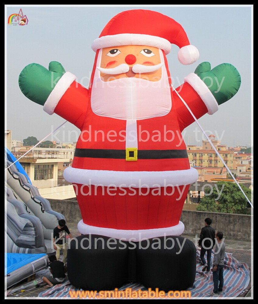 Cheap Inflatable Yard Decorations: Giant Inflatable Santa Claus Model,Inflatable Yard