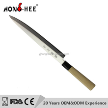 New design 10 inch Wooden Handle 5CR15MOV Japanese Kitchen Sushi Knife