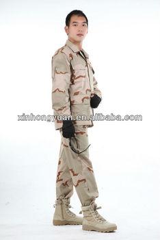 1329475c005 Estilo Americano Camuflaje Del Desierto Uniforme Militar Ventas ...