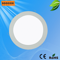 Haute lumenous plafond mince ménages ronde panneau de led light