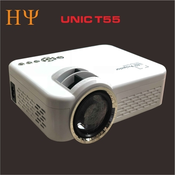 Wholesale Unic T55 Unic Uc46 Led Mini Home Projector 1200 Lumens Wifi Dlna  Screen Display Game Proyector Unic T55 - Buy Mini Portable Projecto Unic