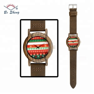 Bosheng: HOT Sale Men's Wooden Watches 245mm Watch Strap Made in China(W6103)