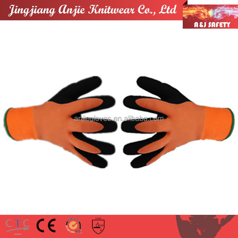 A&J Non slip waterproof warm keeping safety gloves