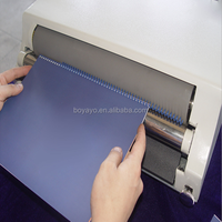 Promote ! High Speed Competitive Price Electrical Metal & Plastic Single Spiral Binding Machine