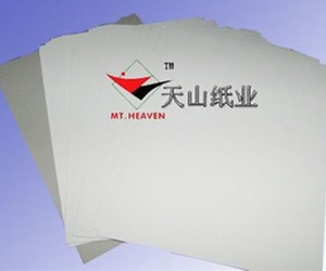 China Book binding supplier Grey chip board/Gray Duplex cardboard