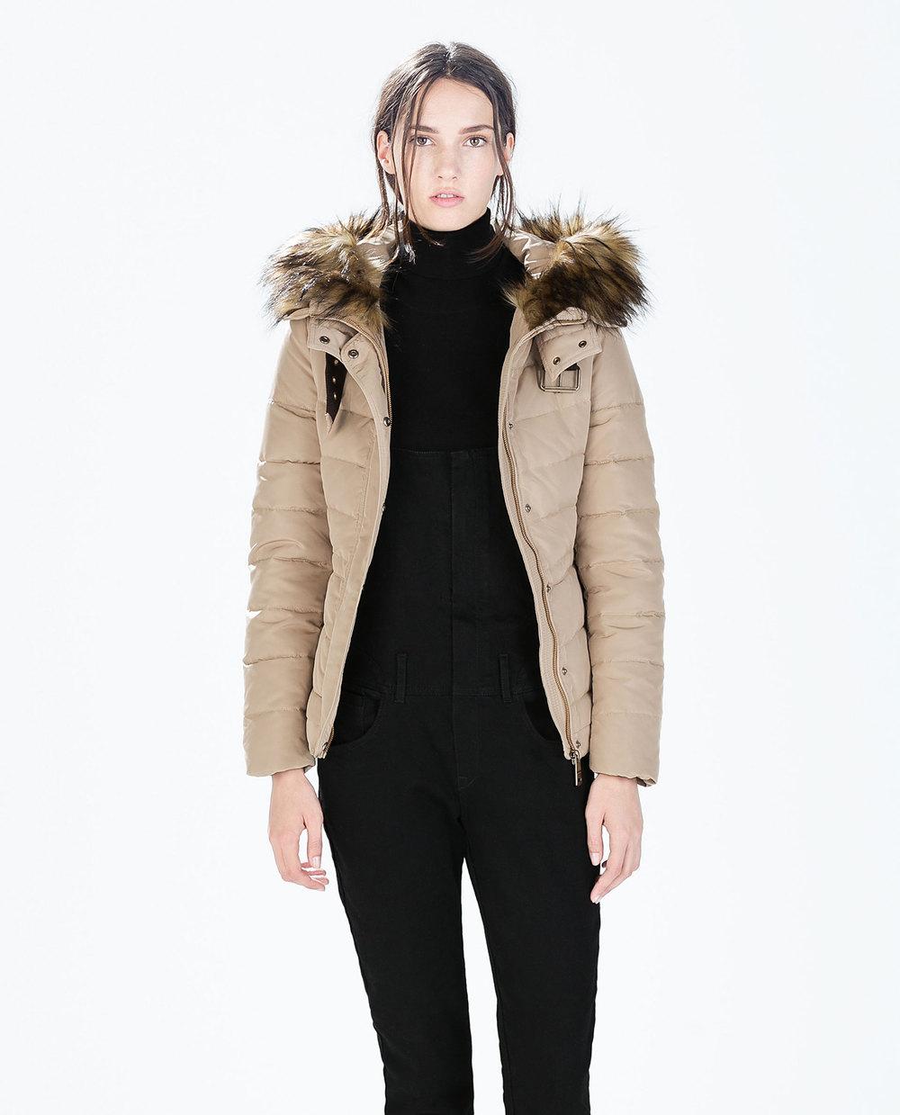Short Puffer Jacket Coat Nj