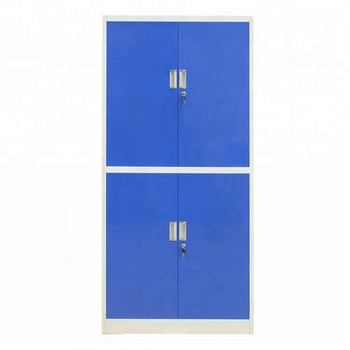 Double Colors Office 4 Doors Iron/Metal storage cabinets