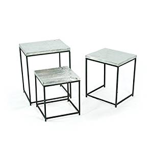 """Eclipse Home Collection Tin Man Tables Small: 13"""" L x 12.5"""" W x 14.5"""" H · Medium: 15"""" L x 13"""" W x 17.5"""" H · Large: 17"""" L x 13.5"""" W x 21"""" H"""