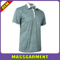 cheap custom 2015 new thin mens double mercerized cotton polo shirt/ printed polo shirts