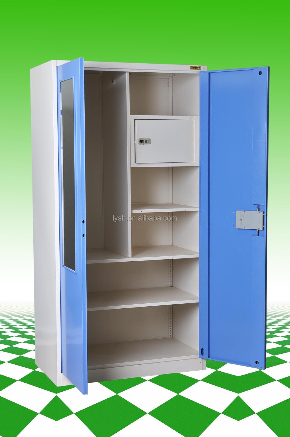 2 Door Cupboard Inside Designs New Design Steel Or Iron Wardrobe Design  2 Door Steel Bedroom